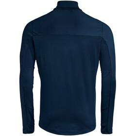 VAUDE Livigno II Top 1/2 Cremallera Hombre, azul